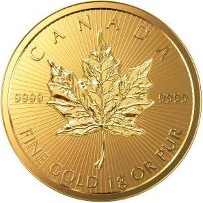 50 cents 2016 Kanada BU Maple Leaf