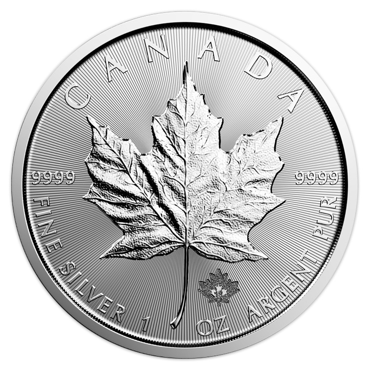 5 Dollars 2019 Kanada BU 1 Oz Maple Leaf