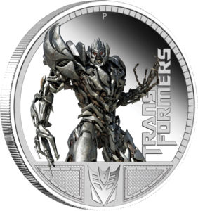 Dollar 2009 TUVALU PROOF Megatron Prime