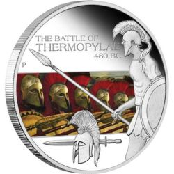 Dollar TUVALU 2009 PROOF Thermopylae