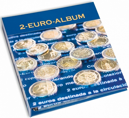 NUMIS illustrated album 2€ commemorative coins for all eurozone countries, Fr/Eng, Vol. 5