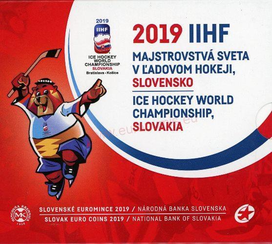 7fdd35571 NOVINKY | SADA 2019 Slovensko BU IIHF | EURONUMIS - Numizmatika ...