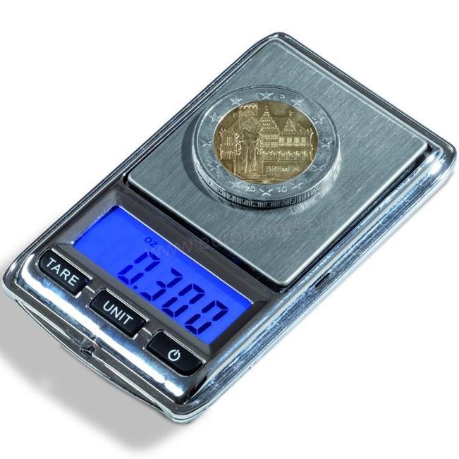 Digitálna váha na mince LIBRA Mini  3bceec1014e