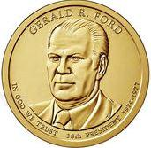 Dollar 2016 P USA UNC Gerald Ford 38th