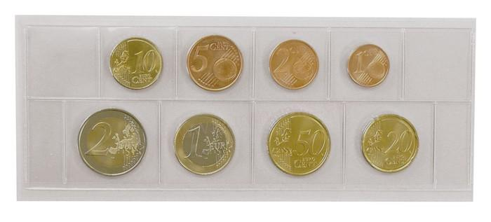 PVC puzdro na euro mince 28295fba6ce