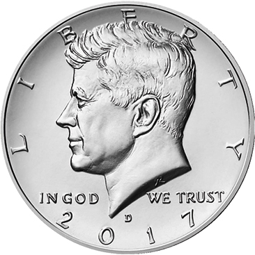 Half Dollar 2017 D USA John F. Kennedy