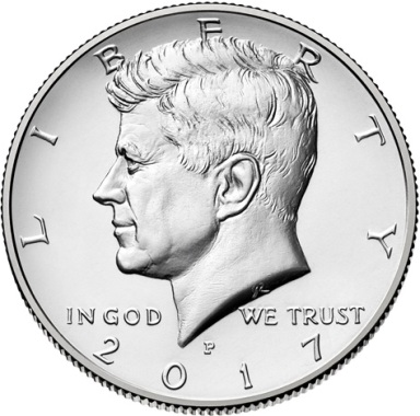 Half Dollar 2017 P USA John F. Kennedy