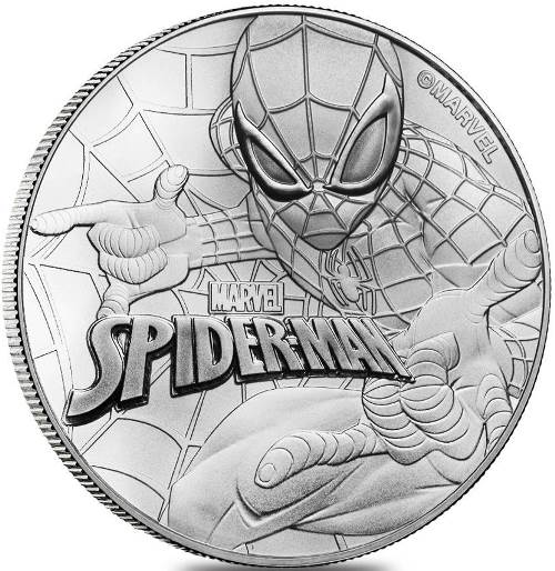 Dollar 2017 Tuvalu BU Spiderman