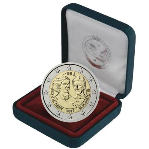 2 euro 2011 Belgicko cc.PROOF