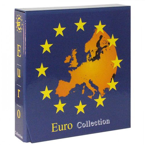 Album EURO COLLECTION na sety euromincí bez listov, kazeta (8450L)