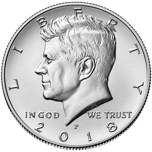 Half Dollar 2018 P USA John F. Kennedy