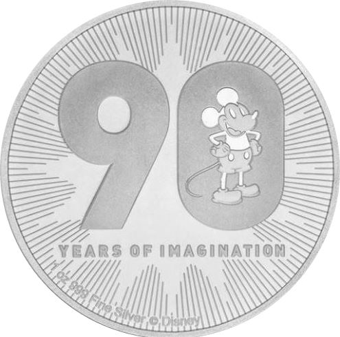 2 Dollars 2018 Niue BU Imagination