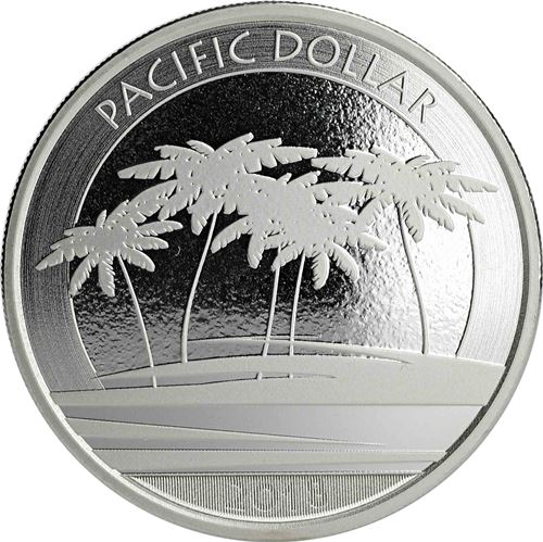 Dollar 2018 Fidži BU 1 Oz Pacific Dollar