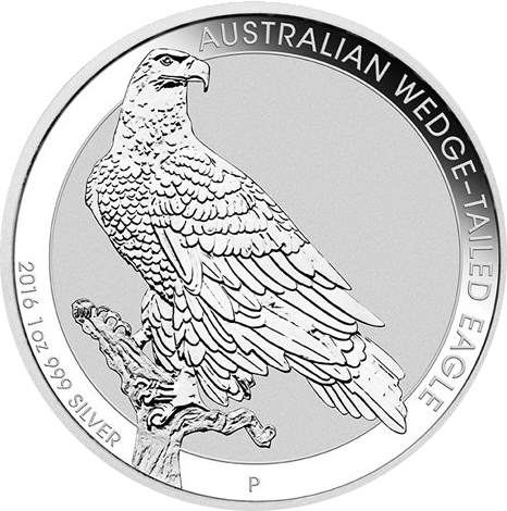 Dollar 2016 Austrália BU Wedge Tailed Eagle