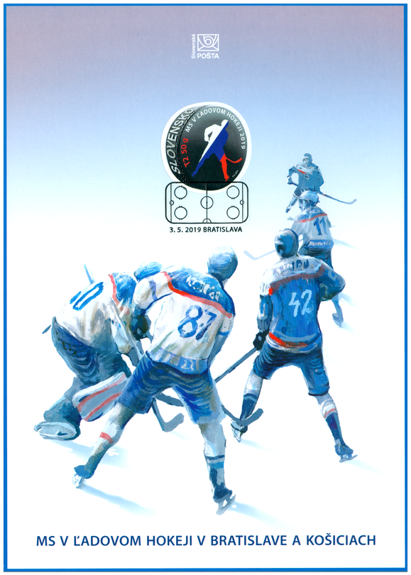 eb5a4da7ac7ed MS v hokeji 2019 | EURONUMIS - Numizmatika, Filatelia, Notafilia ...