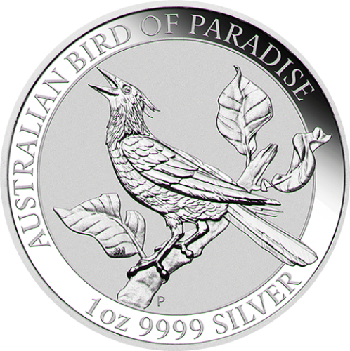 Dollar 2019 Austrália BU 1 Oz Bird of paradise