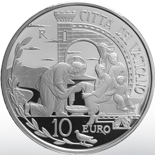 10 euro 2019 Vatikán PROOF 52nd World Day of Peace