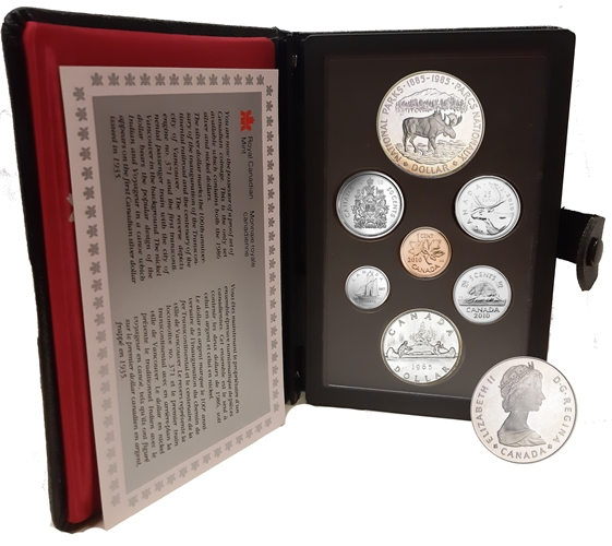 SADA 1985 Kanada PROOF National Parks