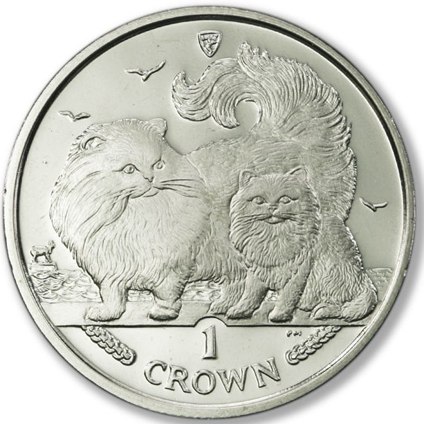1 Crown 2009 Isle of Man UNC CuNi