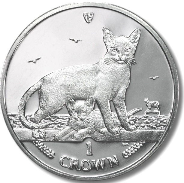 1 Crown 2010 Isle of Man UNC CuNi