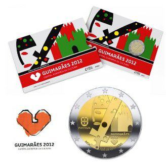 2 euro 2012 Portugalsko cc.PROOF