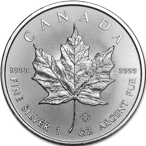 5 Dollars 2021 Kanada BU 1 Oz Ag Maple Leaf