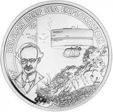 10 euro 2011 Belgicko PROOF Belgian Deep Sea Exploration