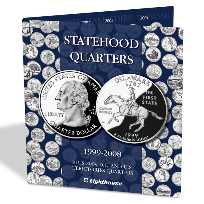 coin album PRESSO, for Statehood Quarters (PRESSOSQ)