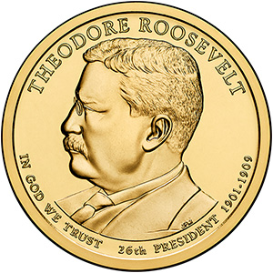 Dollar 2013 D USA UNC T.Roosevelt 26th
