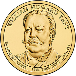 Dollar 2013 D USA UNC William Howard Taft 27th