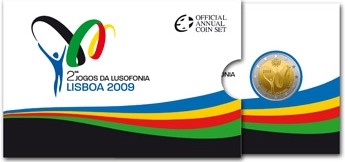 2 euro 2009 Portugalsko cc.PROOF