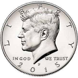 Half Dollar 2015 D USA John F. Kennedy