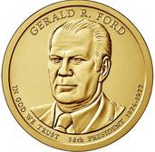 Dollar 2016 D USA UNC Gerald Ford 38th