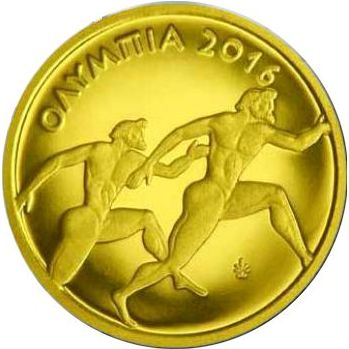50 euro 2016 Grécko PROOF Olympia