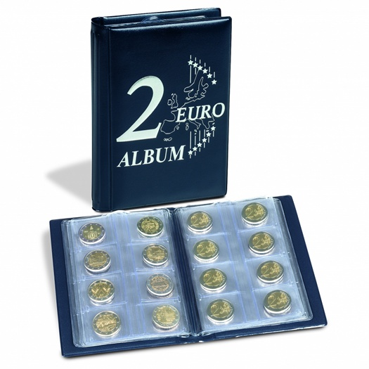 Album POCKET na 2 euro mince (POCKET2EU)