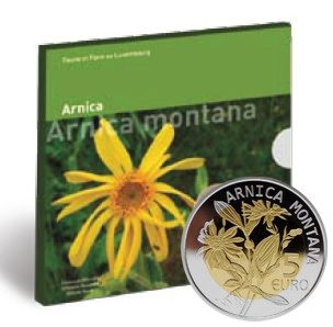 5 EURO 2010 Luxembursko Arnica PROOF