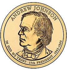 Dollar 2011 P USA UNC A.Johnson 17th